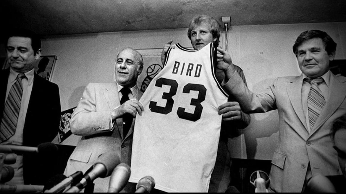 Larry Bird, Celtics player