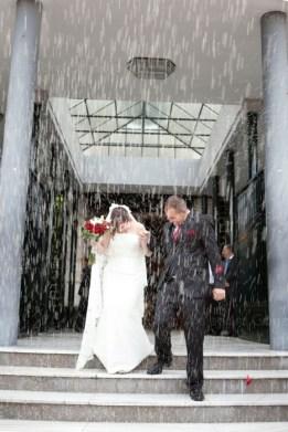 Reportaje de boda en Granada. Fotos en Iglesia
