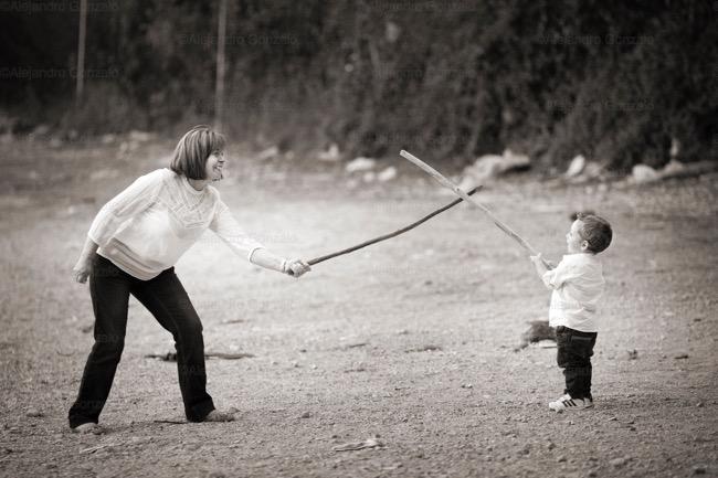 foto de abuela y nieto
