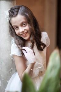 fotos comunion niña
