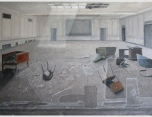 room – oil on canvas