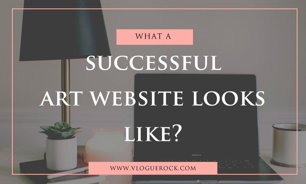 successful art website