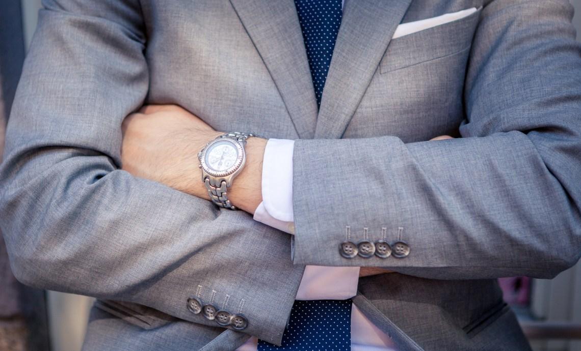 Light Grey Business Suit
