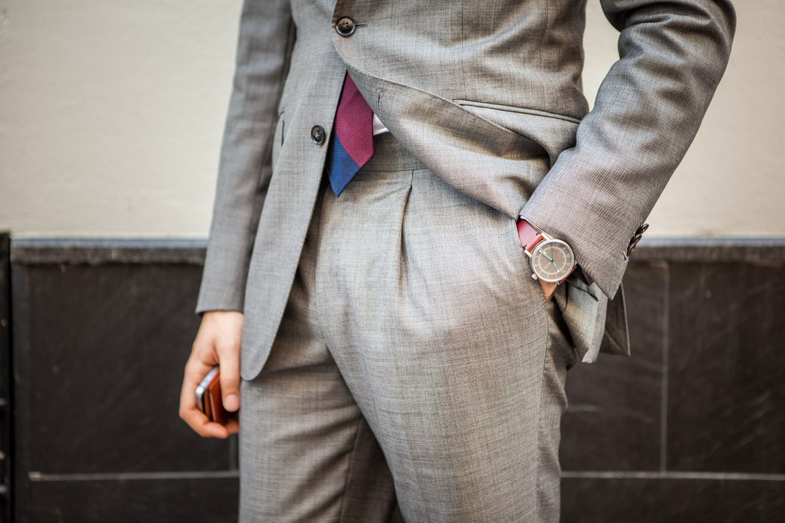 Back to business - Grey Suit
