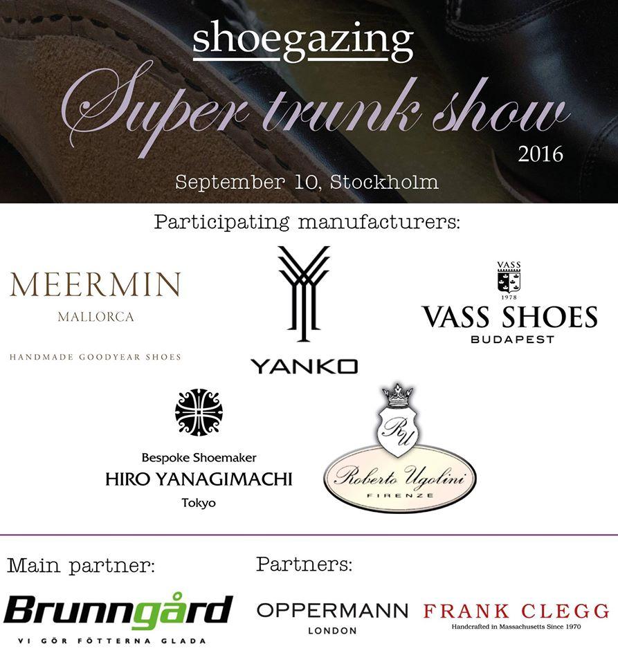Shoegazing Super Trunk Show 2016