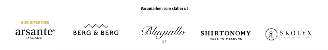 Malmö Menswear Trunkshow