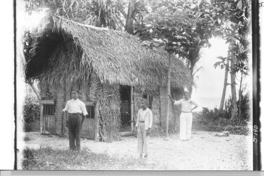Traditional house - Mejit island - Liiep Atoll