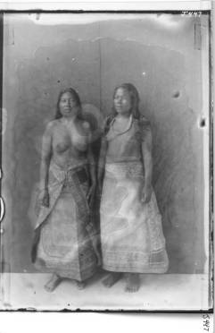 Women in traditional Dresses - Likiep atoll