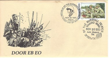 Alele Postal Sub-Station First Day Cover - Door Eb Eo - Nov 20 1993