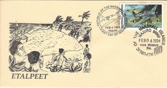 Alele Postal Sub-Station First Day Cover - Etalpeet