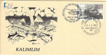 Alele Postal Sub-Station First Day Cover - Kalimlim
