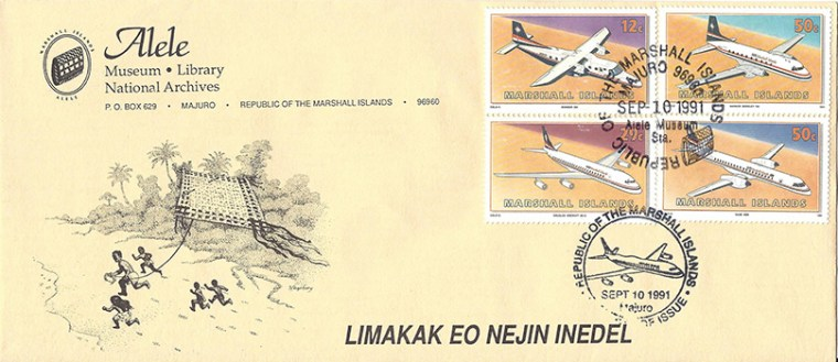 Alele Postal Sub-Station First Day Cover - Limakak Eo Nejin