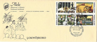 Alele Postal Sub-Station First Day Cover - Lokwojroro