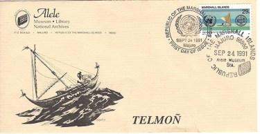Alele Postal Sub-Station First Day Cover - Telmon