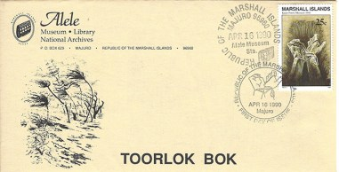 Alele Postal Sub-Station First Day Cover - Toorlok Bok