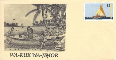 Alele Postal Sub-Station First Day Cover - Wa-Kuk Wa-Jimor