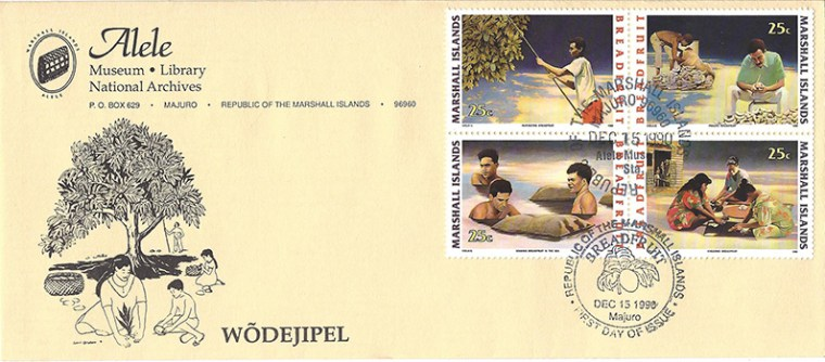 Alele Postal Sub-Station First Day Cover - Wodejipel