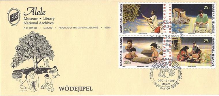 Alele Postal Sub-Station First Day Cover - Wodejipel