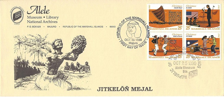 Alele Postal Sub-Station First Day Cover - Jitkelon Mejal