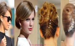 Fransız Büküm Topuz Saç Modeli