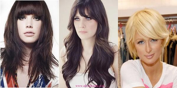 Kahküllü Saç Modelleri