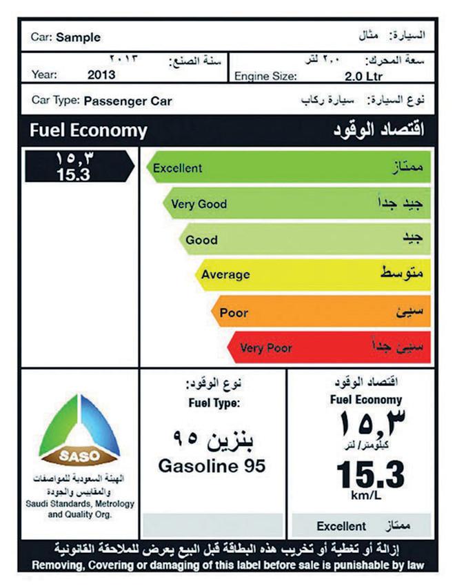 ارتفاع سعر البنزين في السعودية 2015