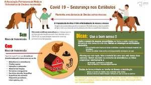 A APMVE (Associação Portuguesa dos Médicos Veterinários de Equinos) recomenda: