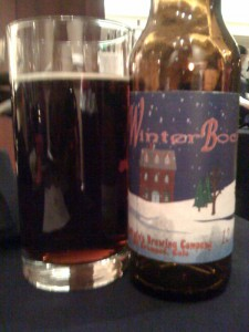 Winter Bock from Judge Balwin Brewery
