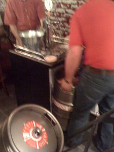 #11 is being Tapped at The Nook