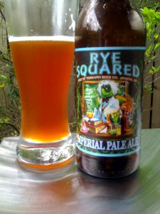 Rye Squared Imprial Pale Ale by Terrapin