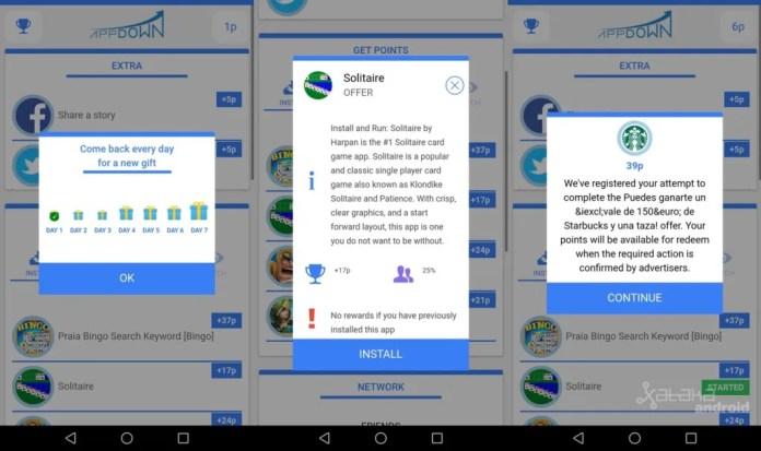 Instalé todas las aplicaciones para ganar dinero de Android, pero prefiero seguir siendo pobre android 4