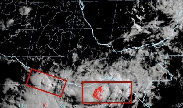 Alerta de fuertes lluvias en Oaxaca por paso de depresión tropical