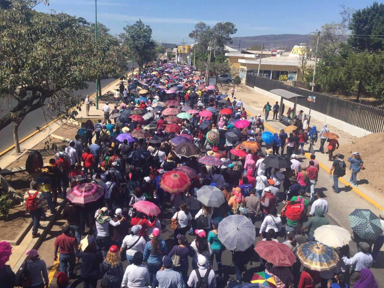 CNTE condiciona el regreso a clases en Chiapas