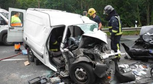 En España se producen anualmente alrededor de 90.000 accidentes,de los que casi 4.000 son con resultado de muerte