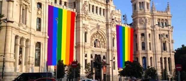 Resultado de imagen de ayuntamiento bandera gay