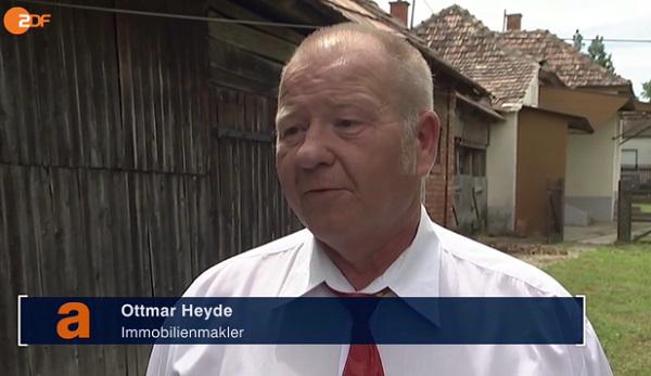 El agente inmobiliario húngaro, Ottmar Heide.