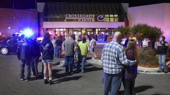 El centro comercial de St. Clud, Minnesota, tras el ataque