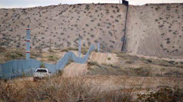 Frontera de Estados Unidos con México.