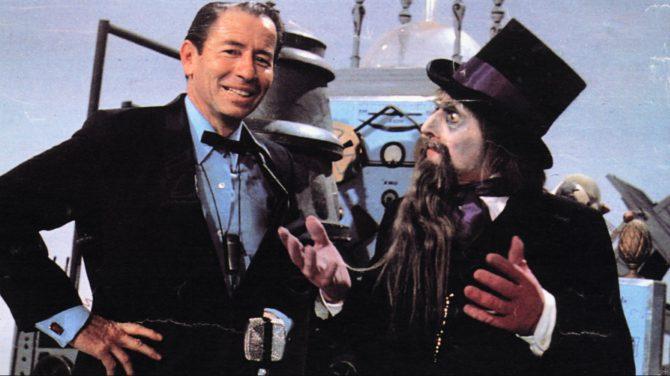 """Los programas televisivos eran didácticos y buscaban el sano entretenimiento.. En la imagen, Kiko Ledgard y Don Cicuta,protagonistas del legendario """"Un, dos, tres"""""""