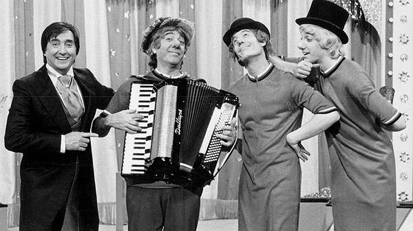 Los Payasos de la tele, ídolos de nuestra infancia.