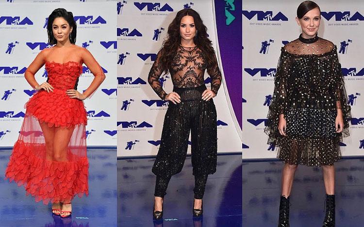 0cdd28f97fb92 Essa semana começou bombando com a transmissão do Vídeo Music Awards, da  MTV, no último domingo (27). Como sempre, diversas estrelas passaram pelo  tapete ...