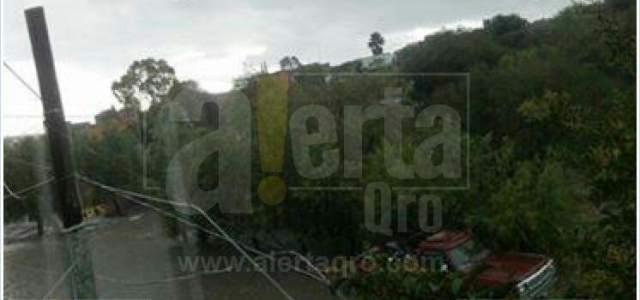 Lluvia torrencial en Santa Rosa