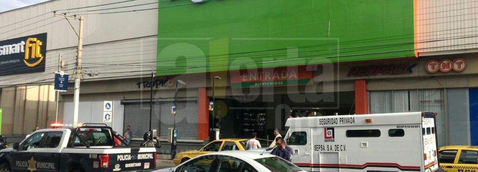 Roban 1 millón 200 mil a custodios en La Comer de Zaragoza
