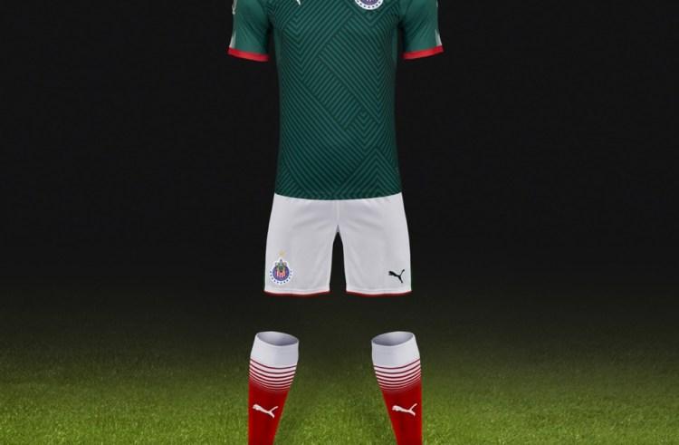 La nueva playera del Guadalajara
