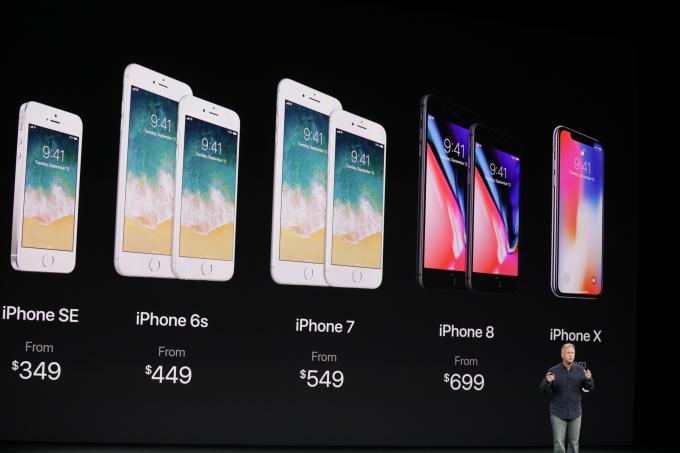 iPhone 8, iPhone 8Plus y iPhone X características, imágenes y precio