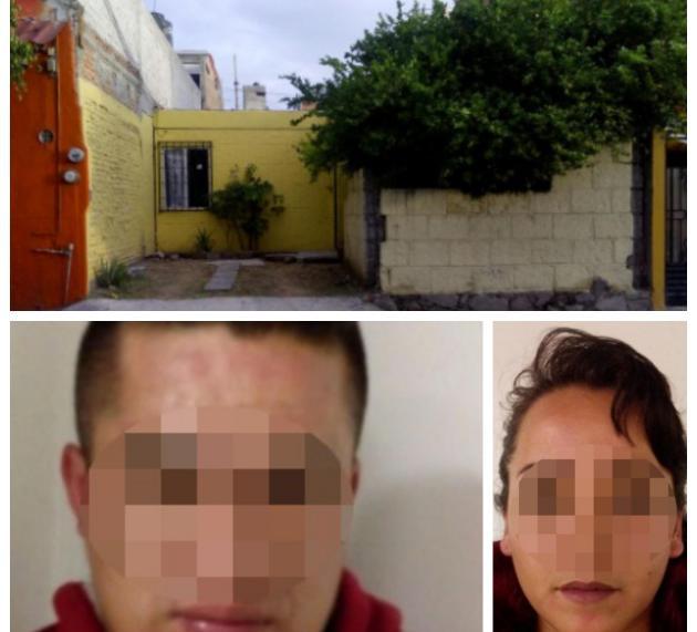 Catean casa en colonia Lázaro Cárdenas; detienen a pareja de narcomenudistas