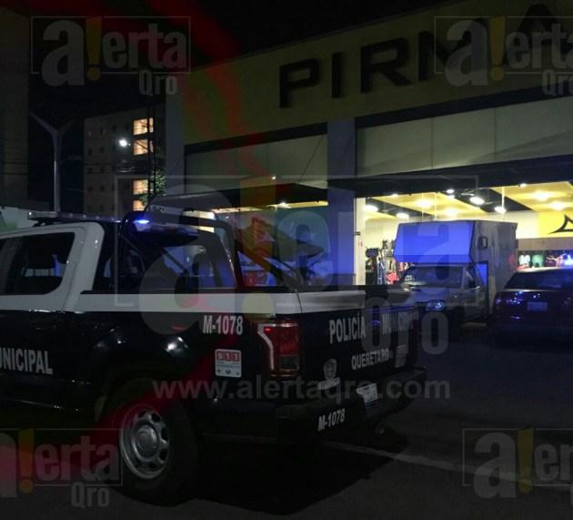 Asaltan tienda Pirma Brasil en la 57