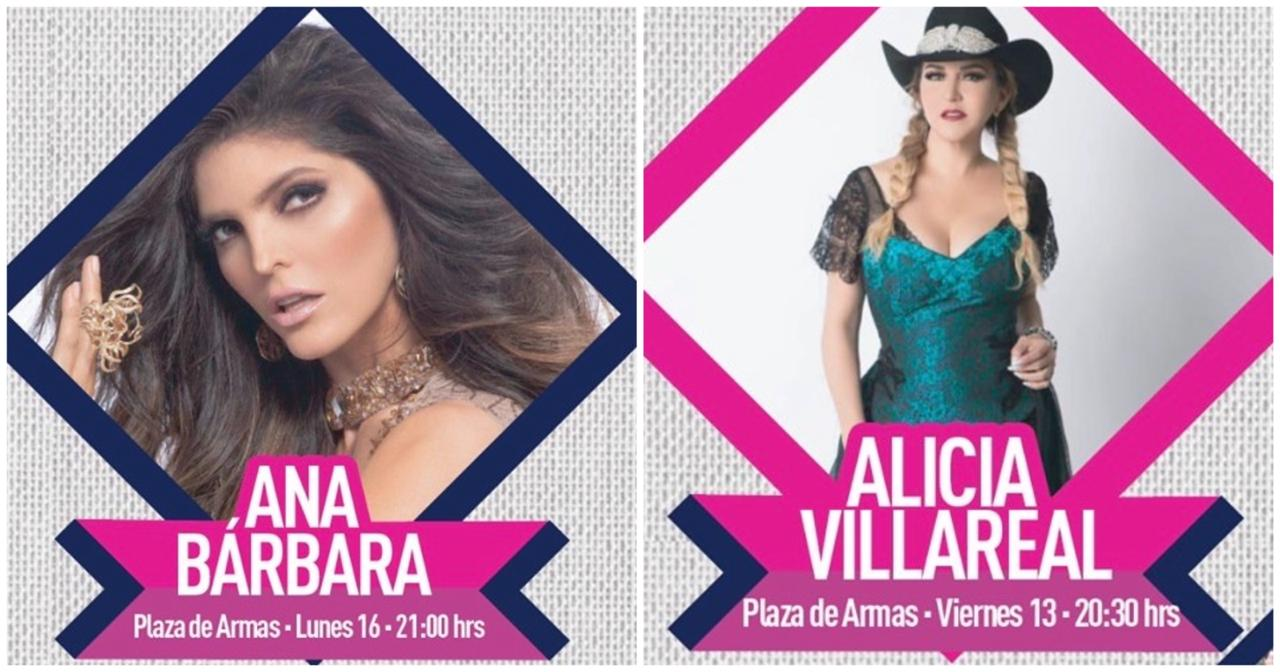 Ana Bárbara Viviana Ugalde ana bárbara y alicia villarreal se presentarán en querétaro