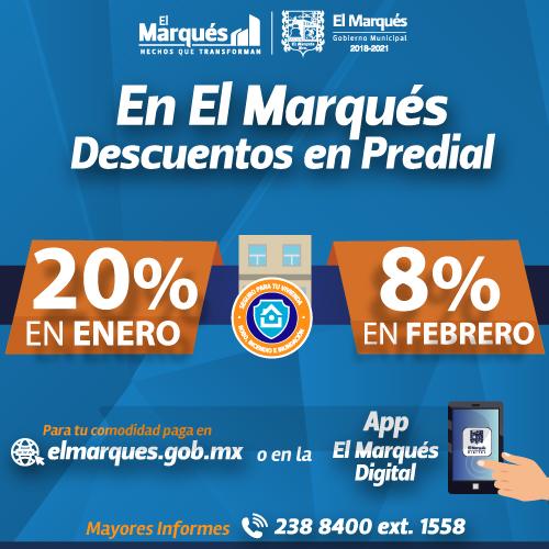 Predial El Marqués 2020