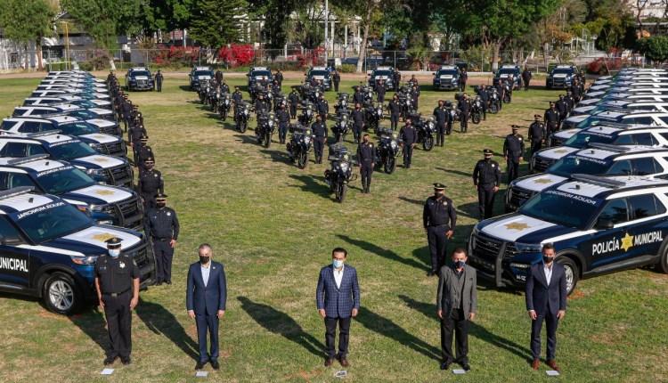 Entregan 57 nuevas unidades para la Policía Municipal de Querétaro –  AlertaQro
